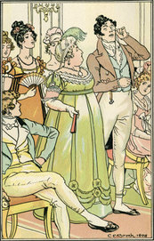 Regency illustration