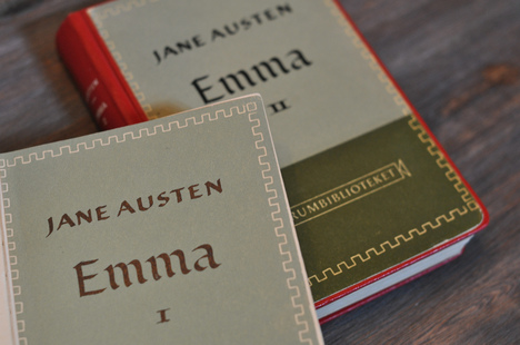 Book covers of Emma