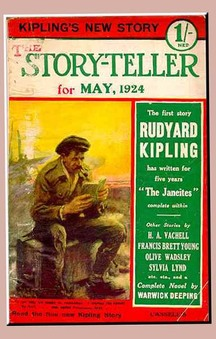 Cover of The Storyteller magazine May 1924
