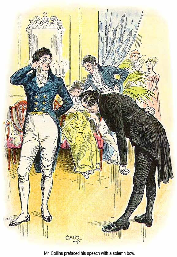 Illustration from Pride and Prejudice