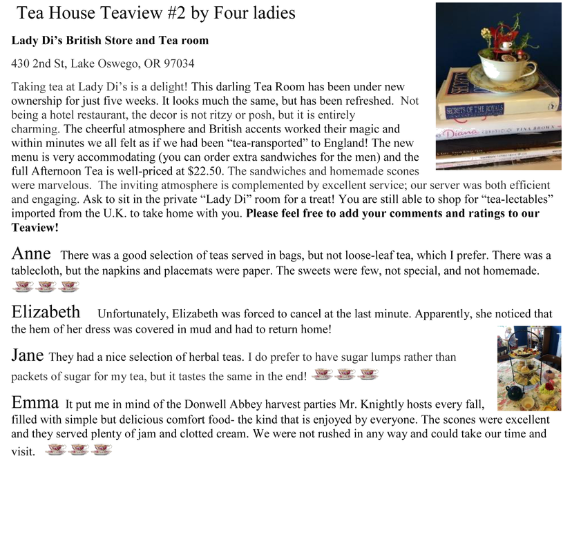 Tea House Review